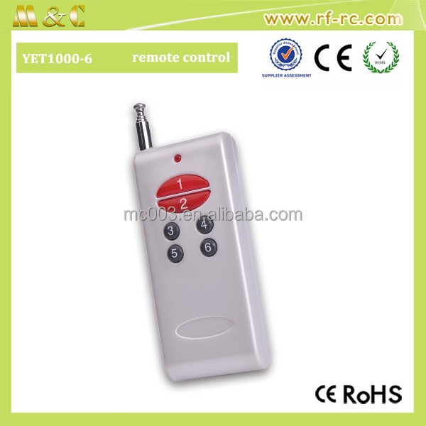 Shenzhen factory 12V Wireless Remote Controls Long Range
