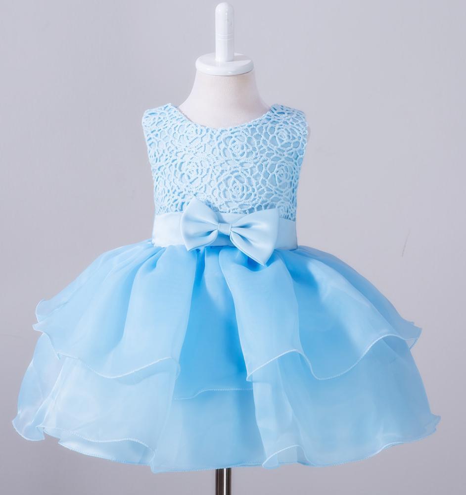 2017 Wholesale Tulle Flower Girl Dress Navy Blue Flower Girl Dresses