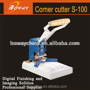 Boway service S-100 manual 6 in 1 multi-function hand die cutter