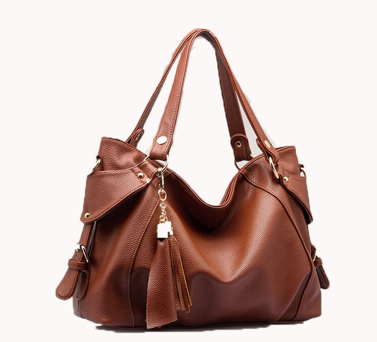 European American style Genuine Leather women handbags fashion cowhide leather women Shoulder Bags Tote Handbag Hobo