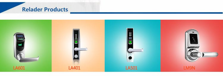 HF-LM9N Bluetooth Electric Magnetic Time Delay Fingerprint Door Lock