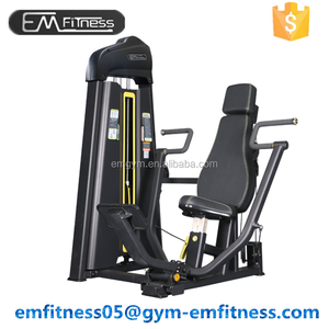 2017 best selling commercial gym equipment strength training machine EM Vertical Chest Press