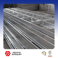 Q195 Scaffolding Metal Plank with Aluminium Portable Stage Platform Stairs