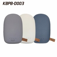Fashionable stone shape portable power bank 10400mAh for all smart phones