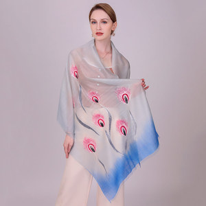 Inner Mongolia high-quality 100% wool scarf women thick large fashion soft pashmina wholesale winter warm plain ladies shawls