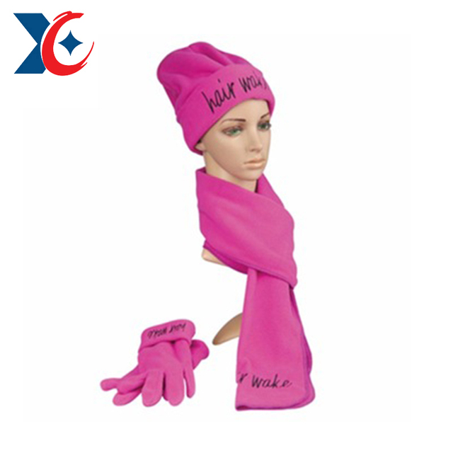 b2dba7dbb7b0 Thin striped jacquard Tesco certificated winter warm knitted cuff scarf hat  glove sets