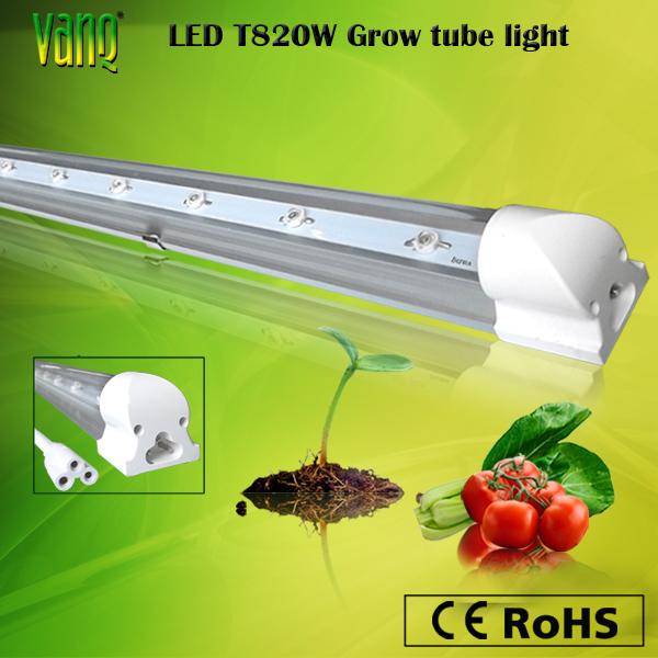 Brand-new Daisy-chain 20w Led Tube Grow Light For Medical Plant ...