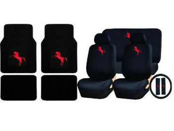 Amazing 15Pc Red Mustang Pony Logo Carpet Floor Mats Low Back Seat Covers Buy Leather Car Seat Covers Car Seat Covers Fashional Car Seat Covers Product On Uwap Interior Chair Design Uwaporg