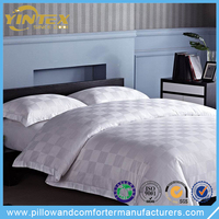 Luxury 100% Cotton White Sheraton Hotel Bedding Set
