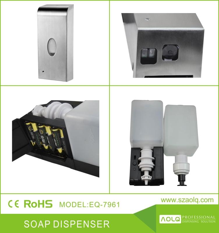 304 edelstahl automatische seifenspender edelstahl automatische schaum seifenspender. Black Bedroom Furniture Sets. Home Design Ideas