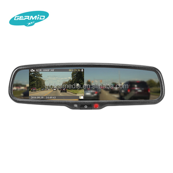 The latest Smart Ambarella A7 dvr rearview mirror