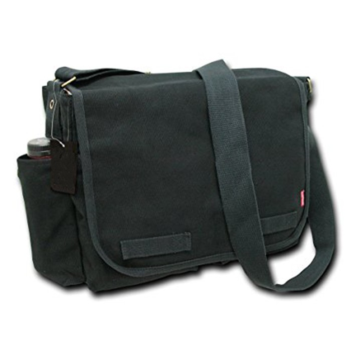 One strap canvas shoulder bag men