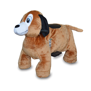 Kiddy Ride Spare Parts Stuffed Animal Ride Coat Coin Operated Animal Skin For Sale