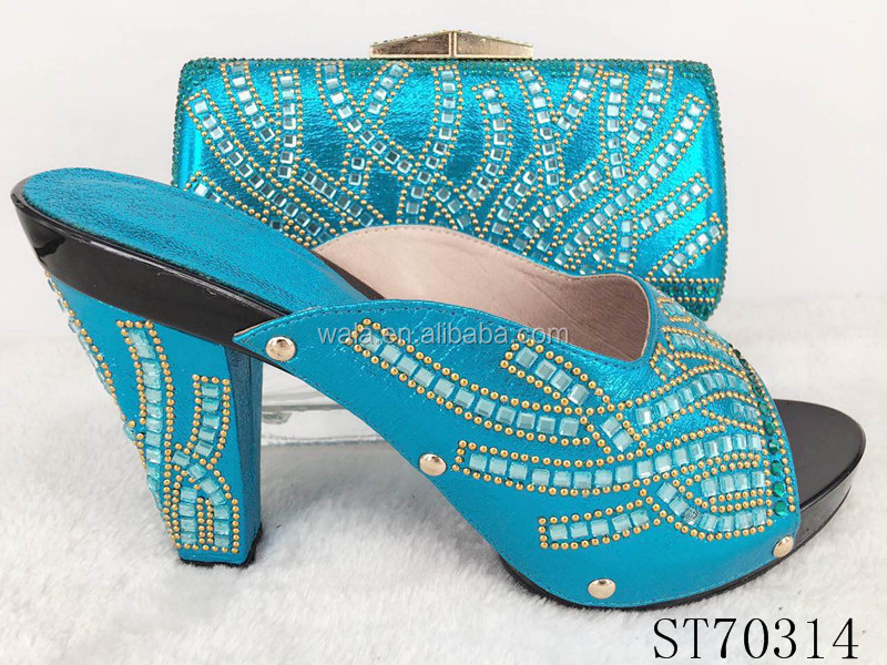and Italy 1 bag gorgeous blue set style royal ST70314 design shoes w4qSRgZ