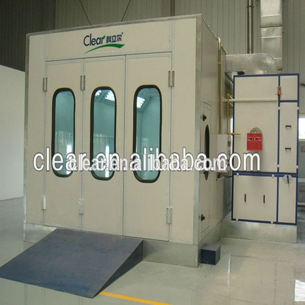 CE and ISO Yantai China Clear Spray Booth of High Quality Hot and LP