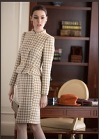fashion ladies skirt suits custom women suit WMS32
