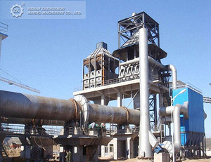 Factory Price Cement Quicklime Calcination Rotary Kiln Machine