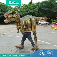 Wholesale fashion design Halloween costumes suit of dinosaurio t rex