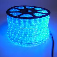 holiday lighting ip44 110v-230v waterproof outdoor led rope light for decoration