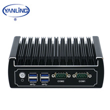 Lowest Price Core I3 6100U X86 Thin Client Dual Lan Mini PC With M.2 Slot