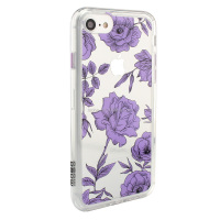 new 2016 IP7 protector case in flower luxury design in slim PC materails