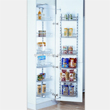 Kitchen Cabinet Tall Unit Pull Out Organizer Wire Basket
