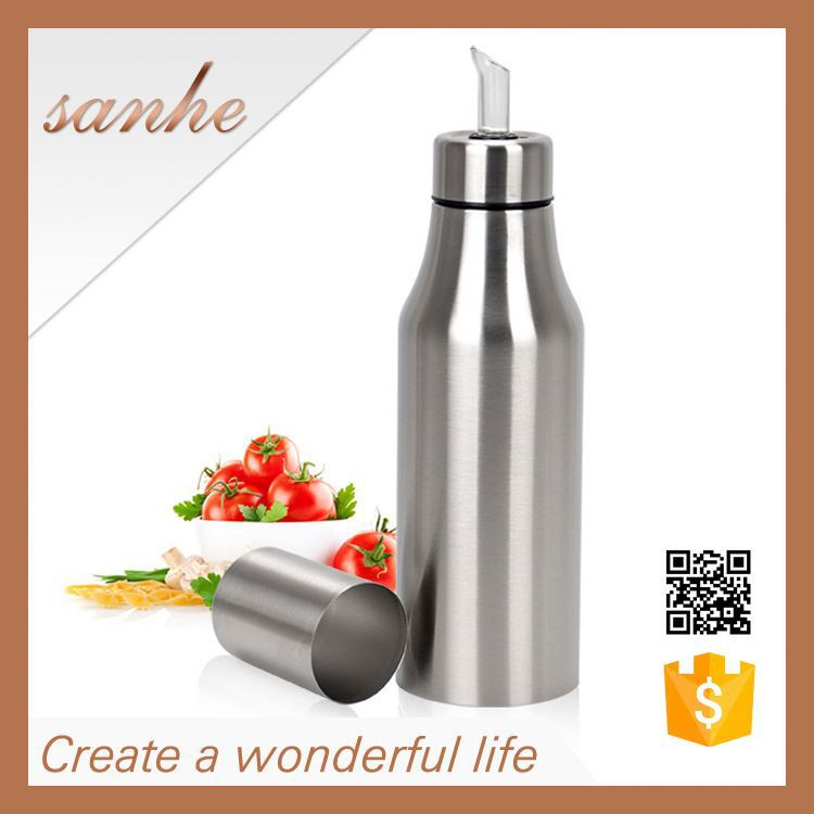 Stainless Steel Kitchen Oilcan Leakproof Olive Oil palm oil in jerry can