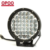 HOT! Round High Power 9 inch 370W Waterproof IP68 Car Led Spot Light 12v