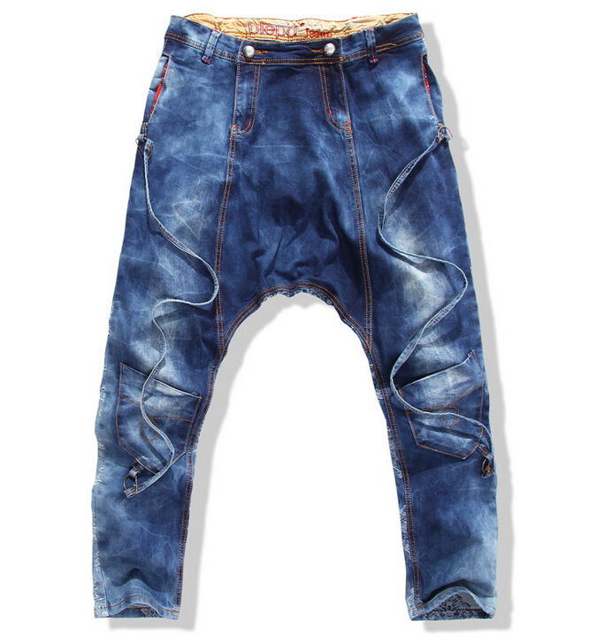 3d2bff06e39 2015 New arrive jeans fashion hot sell jeans men Famous brands logo jeans  slim fit trousers