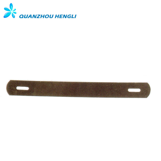 Bag accessories metal strip fitting for leather bags