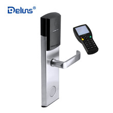 2018 Deluns wifi bluetooth quality samrt rfid online electric security rf card door system hotel lock