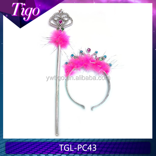 Wholesale Princess Fairy Crown Tiara and Scepter