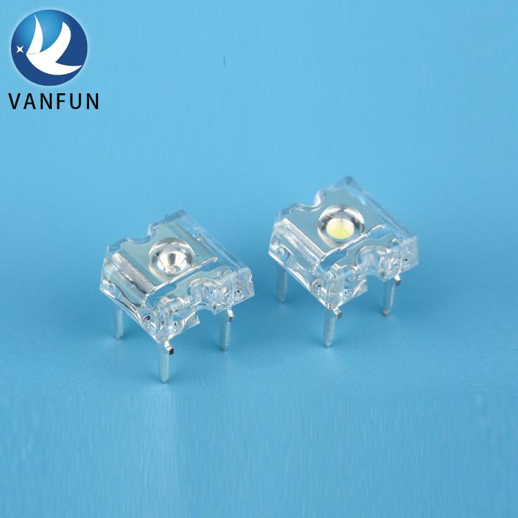 56 unidades SuperFlux LED blanco white 5mm