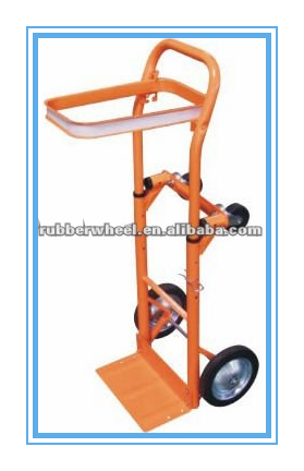 Four wheel platform light duty hand truck for luggage carrying
