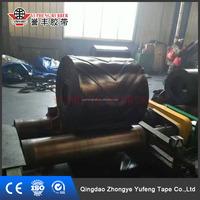 China Supplier Closed V Shape EP Rubber Pattern Conveyor Belt