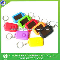 Customer Logo Solar Keychain, Solar Key holder,Solar Key Chain