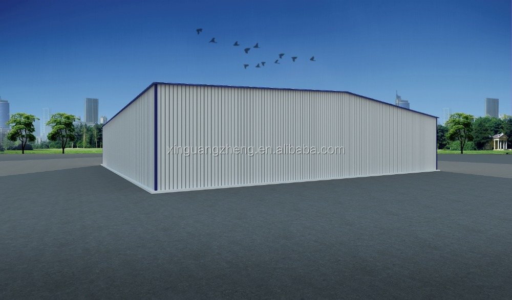 prefab steel structure small hangar