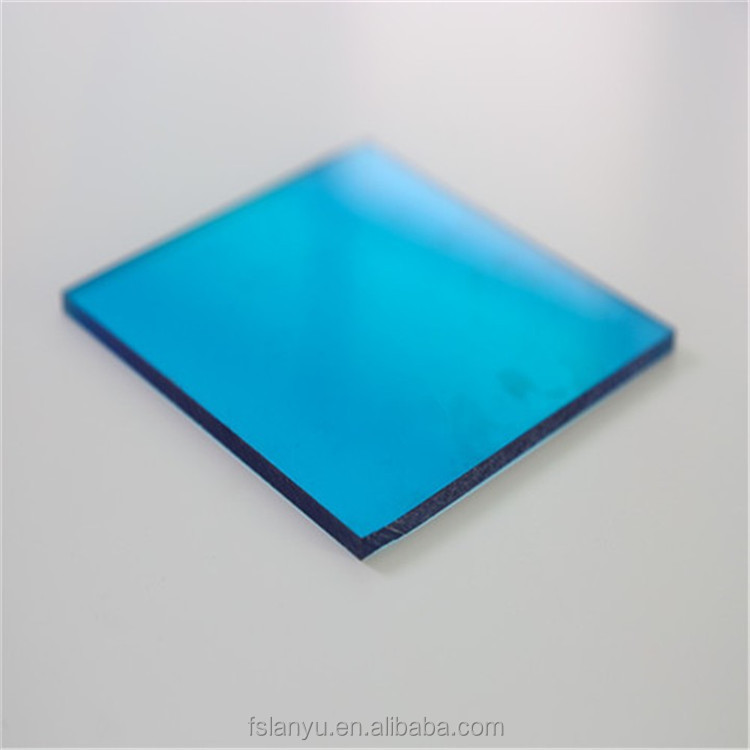 single wall pc sheets solid polycarbonate tinted panel