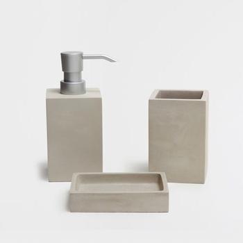Modern Concrete Home Bathroom Decoration Accessories Set,Newly Bathroom  Product Decoration Pieces   Buy Bathroom Set,Home Decoration Pieces ...