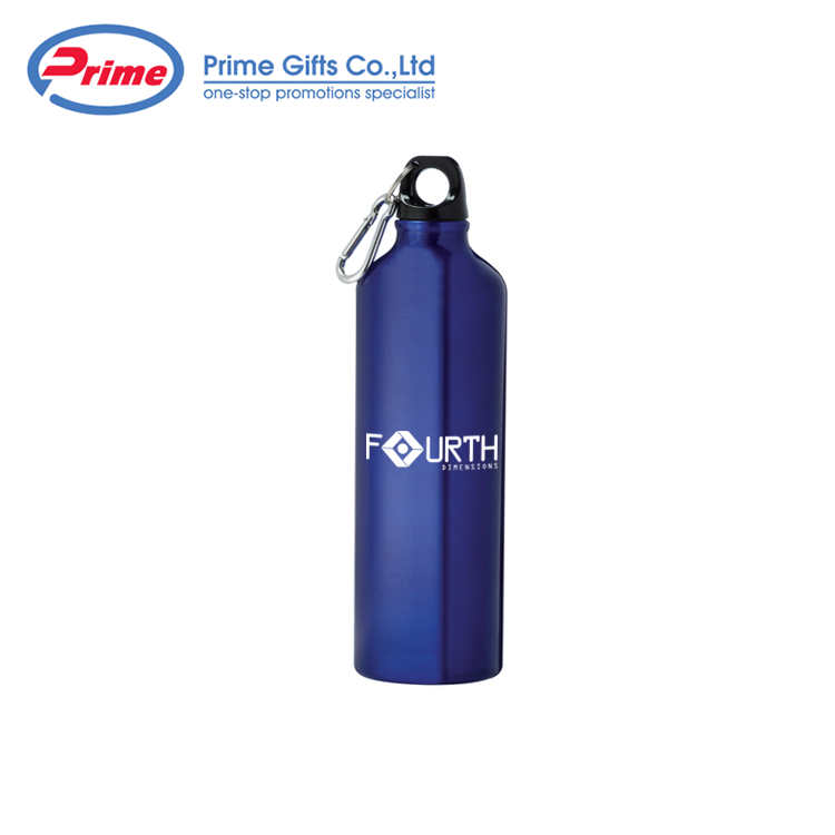 500ml Sliver Promotional Custom Logo Metal Aluminum Sports Water Bottle
