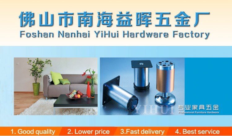 modern brushed steel metal iron inclined furniture leg Custom High Class Replacement Metal Cylinder Sofa Legs