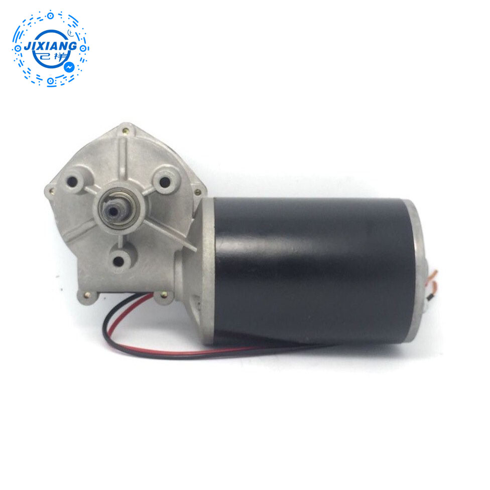 24V 80W High Torque DC Worm Gear Motor Car Wiper Motor For Universal Type