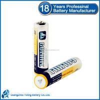 Shrink pack 1.5v um 4 aaa r03 dry battery