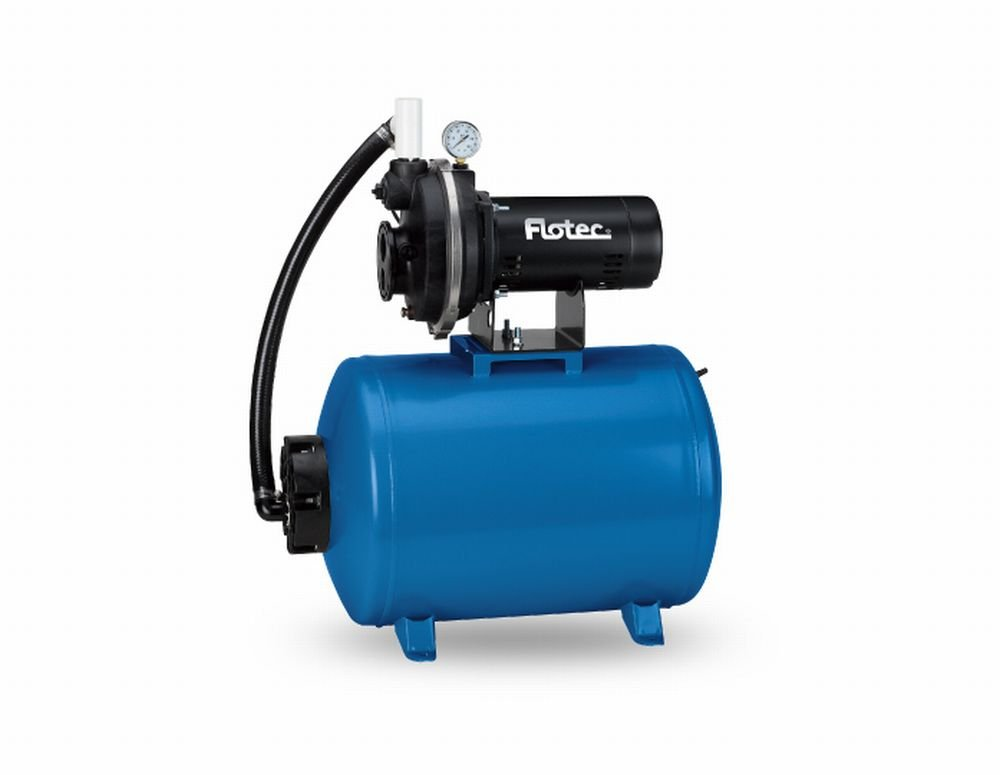 Pentair Wate-Flotec-Simer FP431242 1/2HP Corrosion-Resistant Convertible Jet/Tank System