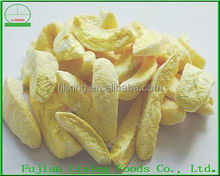 Dried fruit of yellow peach strips