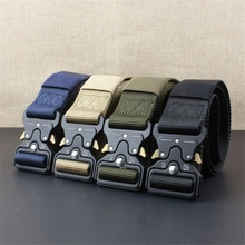 IN STOCK wholesale quick release security police duty USA tactical belt wholesale military belt for outdoor sports web belts