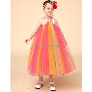 e71e29a2521c 2015 nuovo disegno per bambini ragazze tutu vestito adorabile colorato  vestito gonfio per 5 anni
