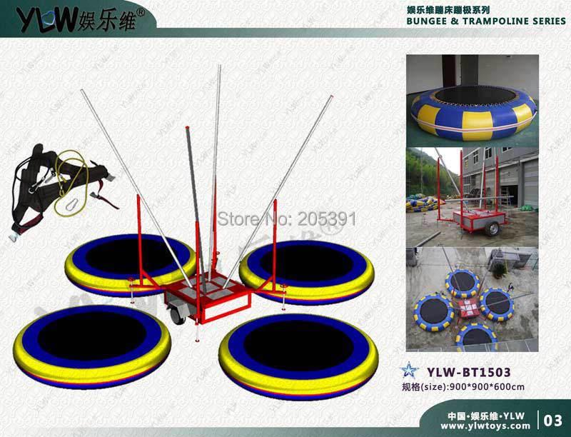 online kaufen gro handel 4 in 1 bungee trampolin aus china. Black Bedroom Furniture Sets. Home Design Ideas