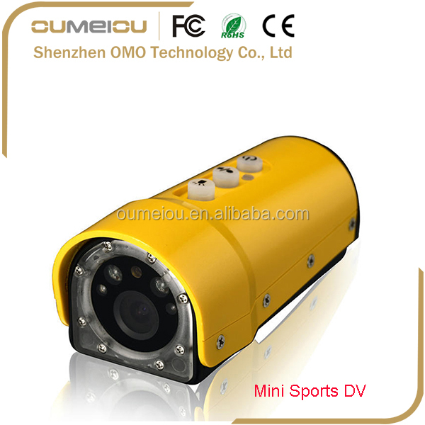 high resolution full hd video camera camcorder for outdoor sports