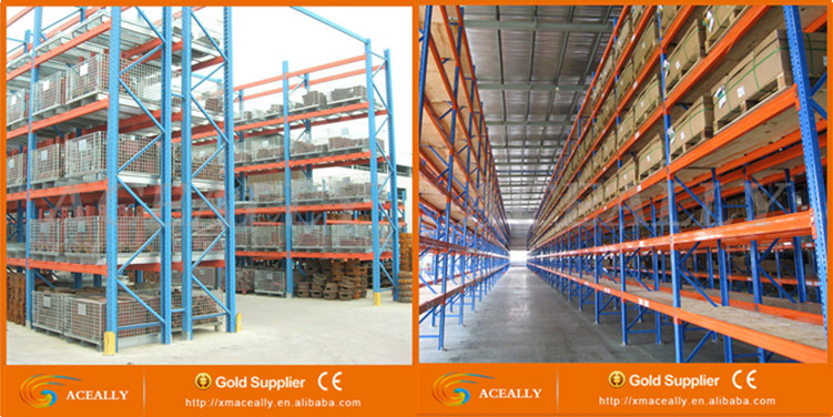 Cold room storage steel racks drive in pallet racking
